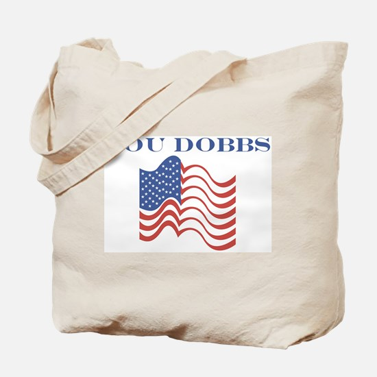 Lou Dobbs (american flag) Tote Bag