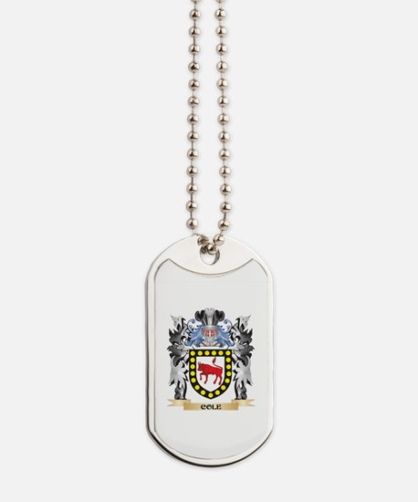 Cole Coat of Arms - Family Crest Dog Tags