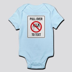 Pull OverTo Text Body Suit