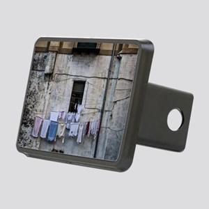 laundry day Rectangular Hitch Cover