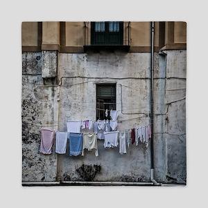 laundry day Queen Duvet