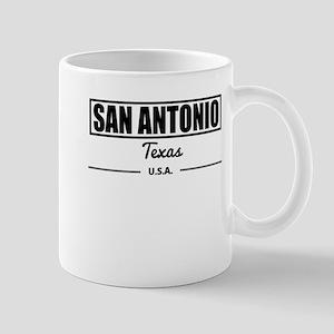 San Antonio Texas Mugs