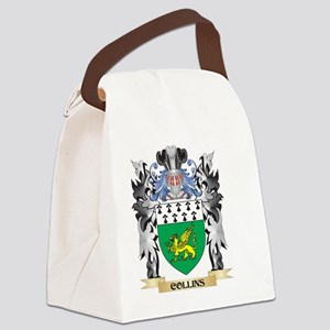 Collins Coat of Arms - Family Cre Canvas Lunch Bag