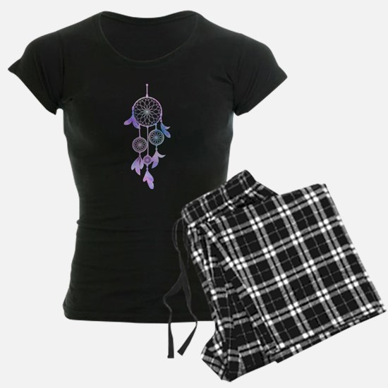 Bohemian Watercolor Dreamcatcher Pajamas