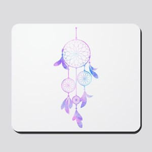 Bohemian Watercolor Dreamcatcher Mousepad