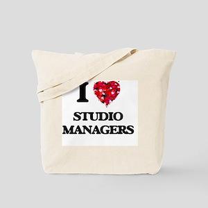 I love Studio Managers Tote Bag