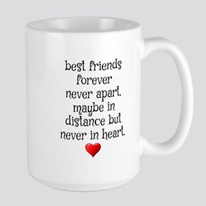 BEST FRIENDS FOREVER NEVER APART Mugs
