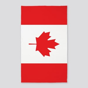 Flag Of Canada Area Rug