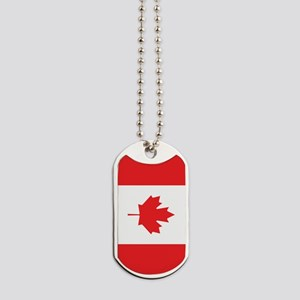 Flag Of Canada Dog Tags