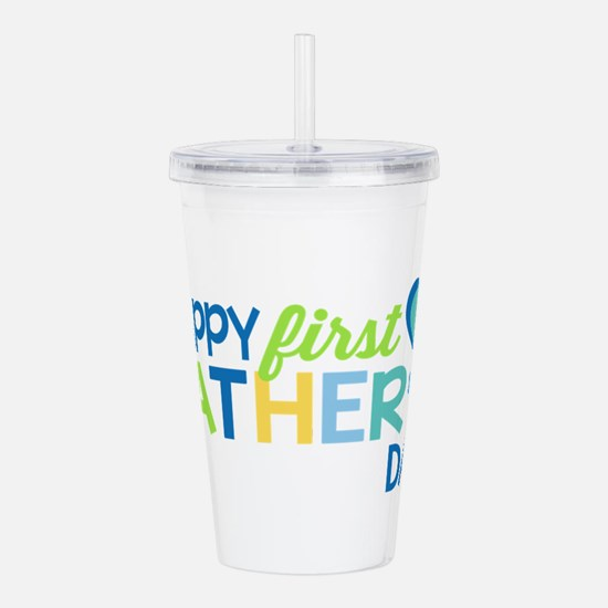 Haopy First Father's D Acrylic Double-wall Tumbler