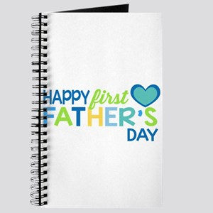 Haopy First Father's Day Boys Journal