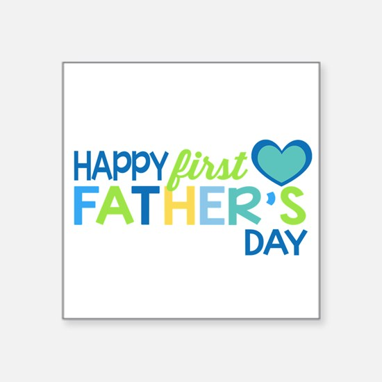 Haopy First Father's Day Boys Sticker
