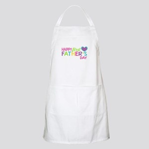 Happy First Father's Day Girls Apron
