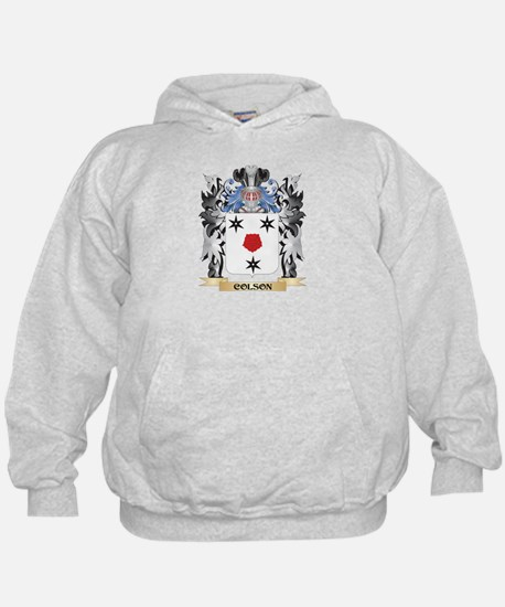 Colson Coat of Arms - Family Crest Hoodie