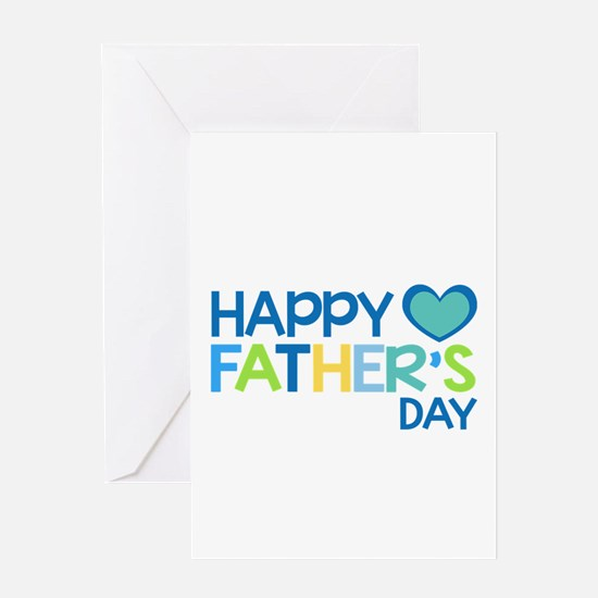 Happy Father's Day Boys Greeting Cards
