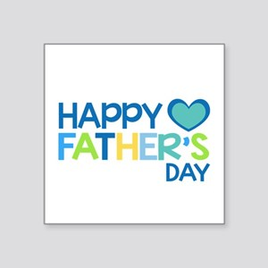 Happy Father's Day Boys Sticker