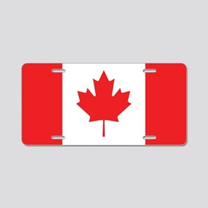 Flag Of Canada Aluminum License Plate