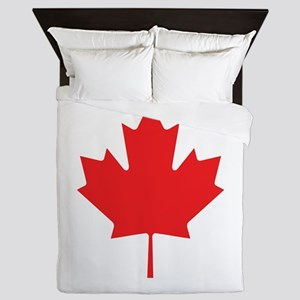 Flag Of Canada Queen Duvet