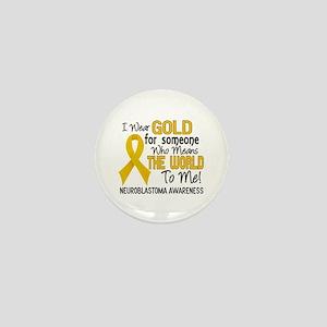 Neuroblastoma MeansWorldToMe2 Mini Button