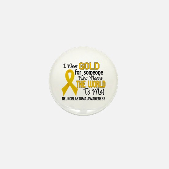 Neuroblastoma MeansWorldToMe2 Mini Button