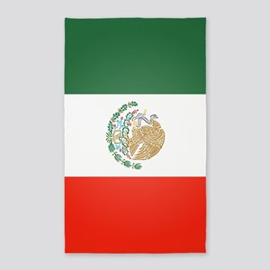 Flag Of Mexico Area Rug