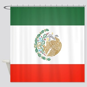 Flag Of Mexico Shower Curtain