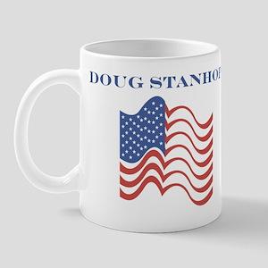 Doug Stanhope (american flag) Mug