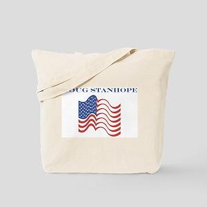 Doug Stanhope (american flag) Tote Bag