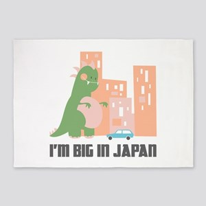 I'm Big In Japan 5'x7'Area Rug