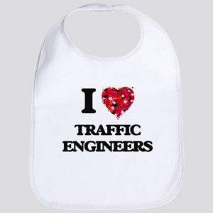 I love Traffic Engineers Bib