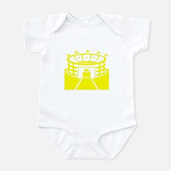 Yellow Stadium Infant Bodysuit