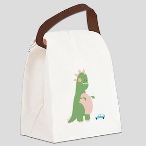 Kaiju Monster Canvas Lunch Bag