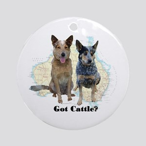 Got Cattle? Ornament (Round)