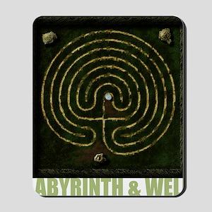 Labyrinth & well Mousepad