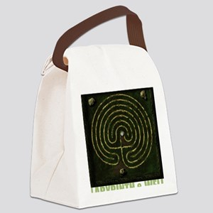 Labyrinth & well Canvas Lunch Bag
