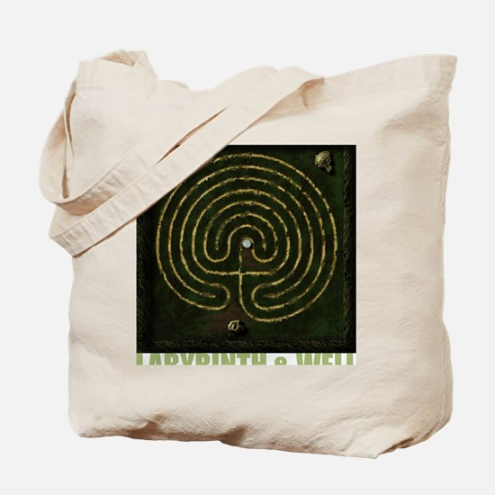 Labyrinth & well Tote Bag