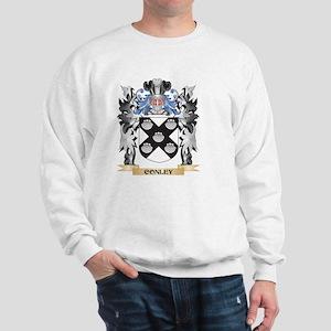 Conley Coat of Arms - Family Crest Sweatshirt