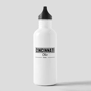 Cincinnati Ohio Water Bottle