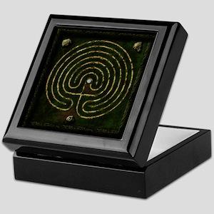 Stone Labyrinth & Well Keepsake Box