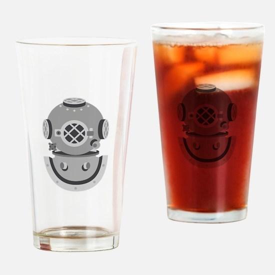 Diver Helmet Drinking Glass