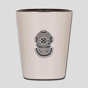 Diver Helmet Shot Glass