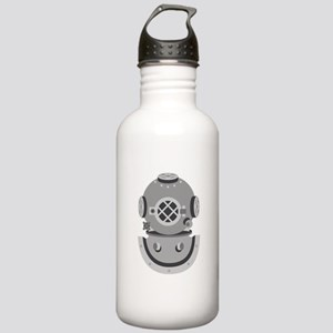 Diver Helmet Water Bottle