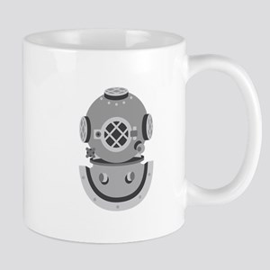 Diver Helmet Mugs