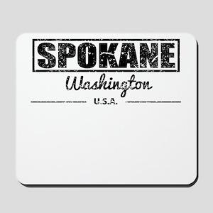 Spokane Washington Mousepad