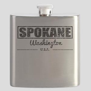 Spokane Washington Flask