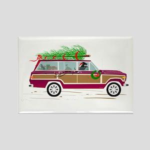 Coddiwomple Christmas Rectangle Magnet