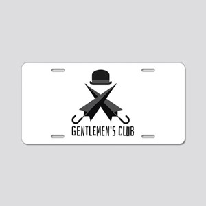 Gentlemen's Club Aluminum License Plate