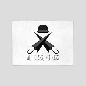 All Class,No Sass 5'x7'Area Rug