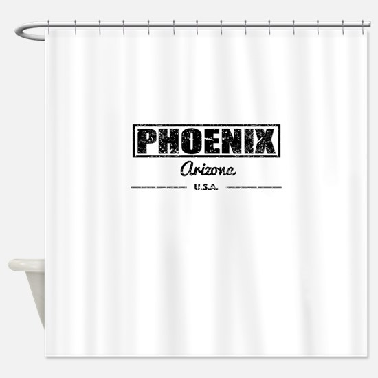 Phoenix Arizona Shower Curtain