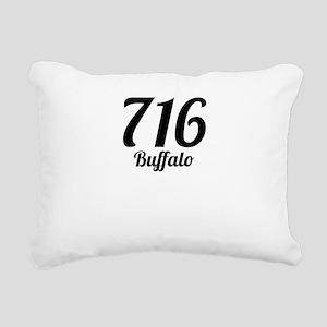 716 Buffalo Rectangular Canvas Pillow